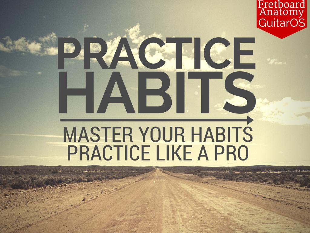 GuitarOS Practice Habits