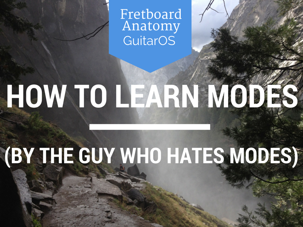 How to learn modes