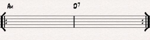 Am - D7